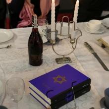 Rekonstrukcji kolacji szabatowej
