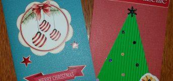 Warsztaty Scrapbooking dla dzieci / Kartka Bożonarodzeniowa