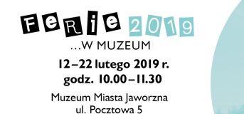 Ferie w muzeum / 2019